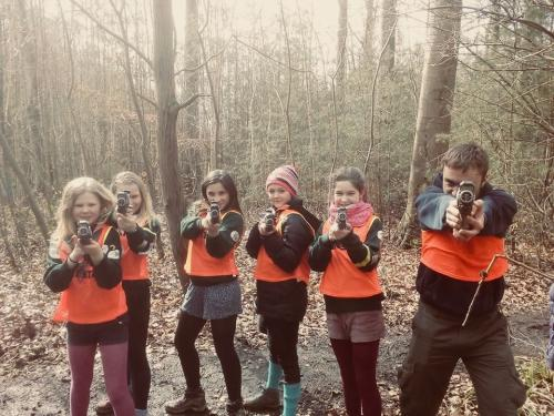 Laser game week-end scout